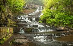 Rensselaerville Falls (Bob Stone) Tags: waterfall rensselaervillefalls