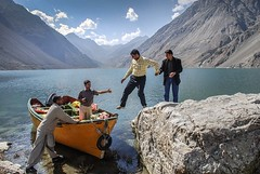 On Sadpara lake Skardu (saleem shahid) Tags: