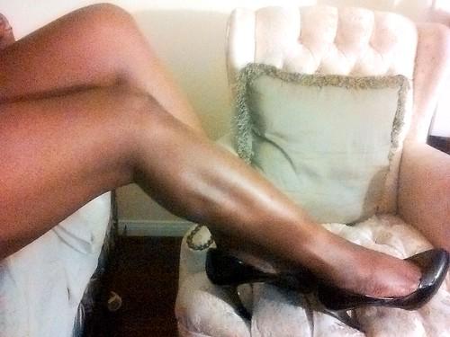 Sabine Mondestin's legs