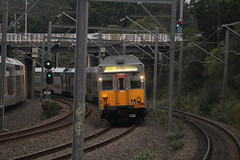 Special K (james.sanders2) Tags: west station k electric set train chopper carriage steel main north sydney railway australia trains double line special short nsw emu passenger northern railways stainless ryde decker k90 k94
