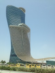 Hyatt Abu Dhabi Capital Gate!