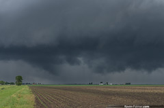 Before the Funnel (kevin-palmer) Tags: storm clouds dark illinois spring afternoon threatening may stjoseph stormy farmland thunderstorm storms ogden saintjoseph farmfield scud champaigncounty supercell kevinpalmer tamron1750mmf28 pentaxk5