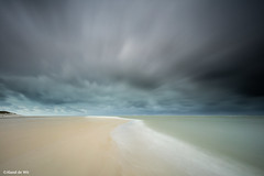 Rain, Hail and Snow (aland67) Tags: longexposure snow storm beach rain hail clouds waddenzee landscape islands sand thenetherlands northsea texel goldenhour waddensea bigstopper leend09hard alanddewit