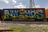 (o texano) Tags: bench graffiti texas houston trains lords freights wholecar nychos benching
