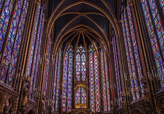 Saint Chapelle (dslaviero81) Tags: city travel sunset sky david paris france building tower church station architecture digital canon lens photography europe cathedral metro eiffel notredame 5d fullframe parisian vitral 24105 llens slaviero 25105mm 5dmarkii 5dmk2 5dmark2