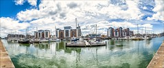 PORTISHEAD HARBOUR (jimstevens1953) Tags: portishead harbour dock boats yatchts sky water panorama clouds reflection waterfront outdoor