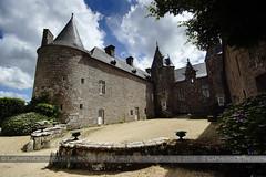 Chteau de Kergrist (Azraelle29) Tags: azraelle azraelle29 sonyslta77 tamron1024 bretagne ctesdarmor chteau france monument pierre castle