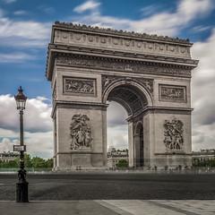 Place Charles-de-Gaulle (aurlien.leroch) Tags: europe france paris placecharlesdegaulle arcdetriomphe champslyses longexposure nikon d7100 nd1000 cityscape