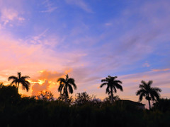 Sunrise HDR 20160722 (Kenneth Cole Schneider) Tags: florida miramar westbrowardwca
