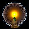The Golden Boy (Sven Gérard (lichtkunstfoto.de)) Tags: light lightpainting lights lichtmalerei lightart lapp lichtkunst sooc glpu lightartperformancephotography