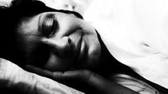 |   mother (Nassia Kapa) Tags: mother portrait smile home nassiakapa bw light pillow fuji fujifilm sweet love motherhood