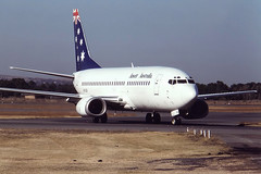 0551 (dannytanner804) Tags: airport aircraft australia international adelaide boeing date airlines reg owner ansett ypad 737377 2641993 vhczk cn236631323