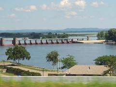 Upper Mississippi Lock & Dam 7 (Anita363) Tags: mississippilockdam7 dam mississippi mississippiriver river lacrescent mn minnesota inpassing