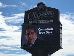 "Caught Joey ""Coco"" Diaz's stand-up act... very cool (KG5JTI) Tags: uncle joey coco diaz church whats happening now podcast"