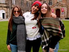 40-IMG_5068 Italian Students (marinbiker 1961) Tags: people standrews students stsalvadorschurchstandrewsscotland2015 standrewsscotland girls woman sunglasses longhair italianstudents groupshot outdoor