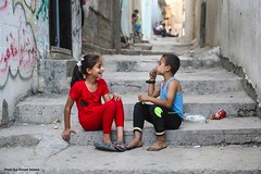 Children in the Jabalyia Refugee Camp (TeamPalestina) Tags: freepalestine palestinian sunrise sweet beautiful heritage live photo photographer comfort natural  palestine nice am amazing innocent occupation landscape landscapes reflection blockade hope canon nikon