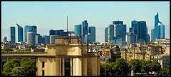 La Defense, Paris (ELtano86) Tags: paris defense parigi skyline city citta eltano86 france francia ciudad la from tower eiffel