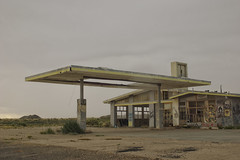 (yyellowbird) Tags: abandoned gasstation twoguns arizona route66 desert