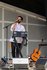 Hseyin Badili 7462-9_0348 (Co Broerse) Tags: music composedmusic contemporarymusic jazz vocals amsterdam 206 cobroerse volt vondelparkopenluchttheater hseyinbadili electronics singersongwriter