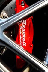 maserati brake caliper (technodean2000) Tags: maserati brake caliper car red