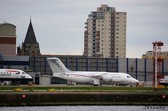 CityJet ~ British Aerospace Avro RJ85 ~ EI-RJF (jb tuohy) Tags: cityjet britishaerospace avro rj85 eirjf aircraft airplane plane airline avion aviation airport lcy eglc transportation londoncity