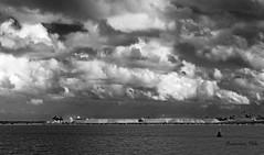 Tormenta en Las Salinas (Fotgrafo-robby25) Tags: byn fujifilmxt1 lopagnmurcia marmenor nubes parqueregional salinasyarenalesdesanpedrodelpinatar sanpedrodelpinatarmurcia