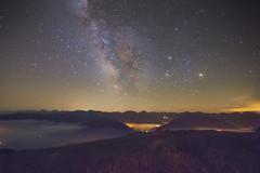 via lattea sei mia! (XXAquarius) Tags: notte night eos colledisampeyre montagna natura nature mountain startrail astrometrydotnet:id=nova1672381 astrometrydotnet:status=solved