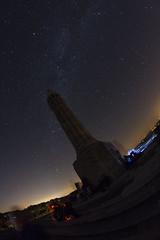 Monument Maurice Barrs sous la Voie Lacte (nounours54) Tags: france lorraine sion mauricebarrs colline ciel etoiles voielacte voie lacte celeste