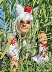 RinCosplay_012 (Ragnarok31) Tags: rin cosplay loup fort roseaux arbre japonais sabre