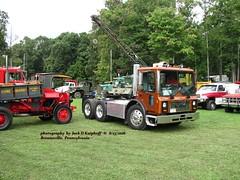 Mack, 8/13/2016 (jackdk) Tags: truck ceo cabover caboverengine macktruck mackcoe truckshow tractor semi semitruck