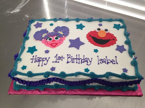 Abby Cadabby Elmo Cake A Photo On Flickriver