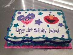 Abby Cadabby & Elmo Cake (Grace-ful Cakes) Tags: sesamestreet sesamestreetcake elmocake abbycadabbycake elmoandabbycadabbycake