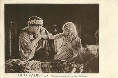 Quo vadis? (1924-25) (Truus, Bob & Jan too!) Tags: vintage postcard cinema cinemaitaliano film filmstar movies movie muet muto moviestar stummfilm star screen silent sepia schauspielerin schauspieler darsteller darstellerin actress actor acteur attrice actrice attore 1920s italy italian italia italiano deutsch deutschland german germany uci antiquity roman nero emperor adaptation novel henryksienkiewicz emiljannings lilianhalldavis menace minaccia decadence georgejacoby gabriellinodannunzio