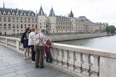 River Seine at the old prison_1 (David_and_Marilyn_King) Tags: paris 2016 riverseine conciergerie