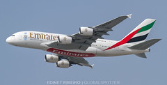 AIRBUS A380-800 (A6-EOU) EMIRATES AIRLINES   DXB-OMDB (Ediney Ribeiro) Tags: a380 emirates dubai airbusa380 a380800 giant