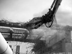 Fase 1: Enderroc de lanella de la Plaa de les Glries ( Feb. 2014) (eloyfc) Tags: glries plaaglriesbarcelona plaaglries barcelonaenderroc agbartower torreagbar 22