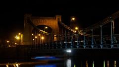 Most Grunwaldzki (StOOdi) Tags: night em10markii olympus poland wrocaw wroclove wroclawbynight wrocawnoca architecture landscape
