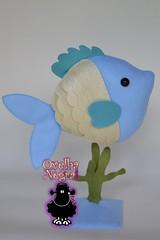 tema:fundo do mar (ovelhanegra_toys) Tags: felt fieltro feltro feitoamo feltcraft festainfantil decorao ovelhanegratoys fish artesanato manualidades