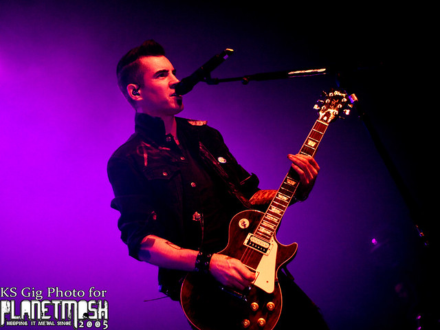 Theory of a Deadman - Glasgow 2015