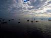 En el muelle (Guillermo Feliú) Tags: chile sky muelle mar pacificocean cielo nubes pacifico oceano mejillones antofagasta