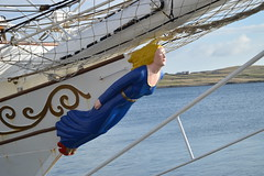 Christian Radich figurehead (DSC_3739) (AngusInShetland) Tags: oslo scotland tallship shetland lerwick onedinline christianradich sailtraining victoriapier 5071729