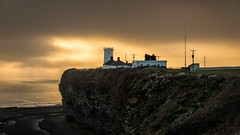 Monk Nash (technodean2000) Tags: uk lighthouse wales point nikon south monk nash lightroom d610