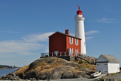 Fisgard Lighthouse (jeff's pixels) Tags: ocean lighthouse vancouver island sound puget fisgard
