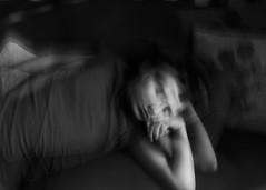 vitruvian dream (Vasilis Amir) Tags: boy sleeping blackandwhite bw motion monochrome moving sleep flash icm  intentionalcameramovement