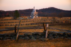 The Fields of Gettysburg (SunnyDazzled) Tags: history monument us memorial state pennsylvania fences gettysburg civilwar american battlefield littleroundtop frankhaskell