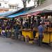 Tiendas de comida nas ruas