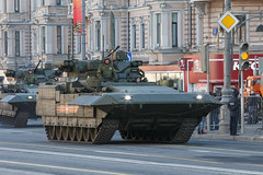 "TBMP T-15 Armata - Rehearsal of Victory parade on Red square in Moscow (Pavel ""Myth"" YB) Tags: tank weapon militaryequipment"