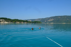 DSCF9517 (JohnSeb) Tags: lake france swimming swim alpes lago see meer lac verdon 湖 johnseb jezioro sø озеро hauteprovence eurotour2012