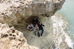 Sea caves! (Viraaj.) Tags: ocean travel blue sea sky mountains beach canon landscape photography bay sand europe outdoor cyprus explore caves napa cape buggy greco famagusta aiya protaras cavo