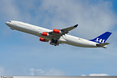 CDG   A340-300 SAS   LN-RKP (Mickaël CASTAING) Tags: sas charlesdegaulle roissy cdg a340300 a343 lfpg roissycharlesdegaulle lnrkp sk566